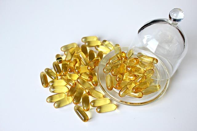 tabletky, skleněný poklop