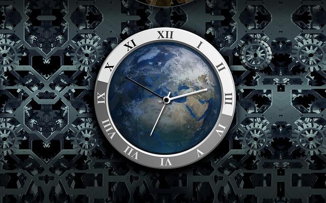 hodiny a kolečka
