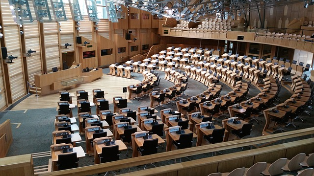 edinburghský parlament
