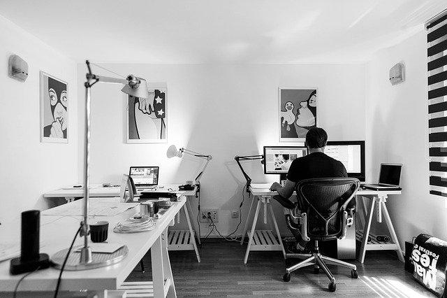 Kancelář v bytě
