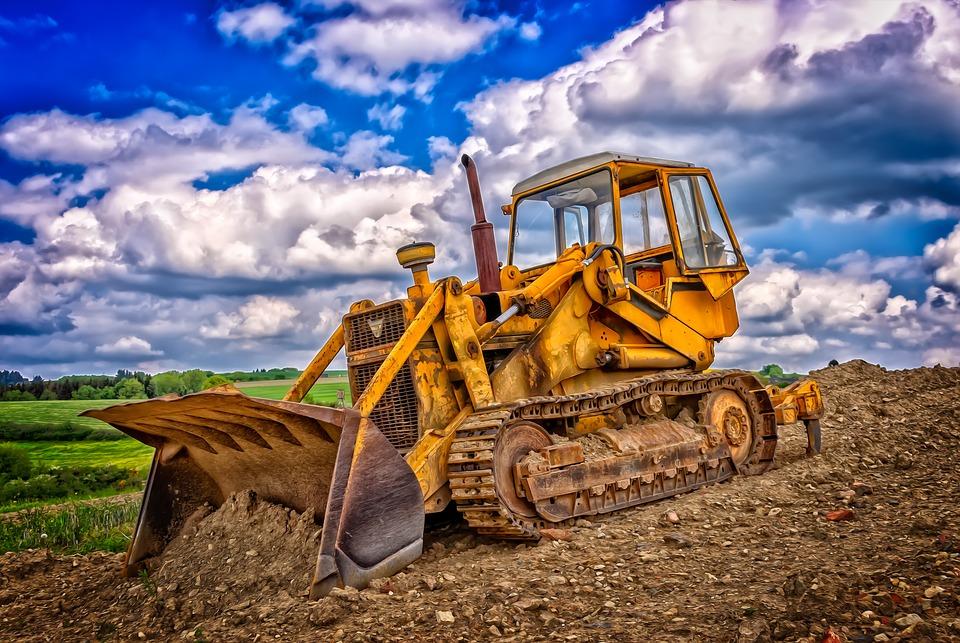 obrázek buldozeru